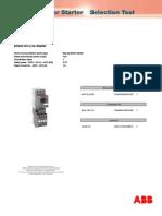 Kalkulimi i motorit 0.75kW