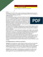 Decreto 2625-99 Reglam Ley Residuos Peligrosos Mza