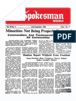 The Spokesman Weekly Vol. 36 No. 4 September 22, 1986
