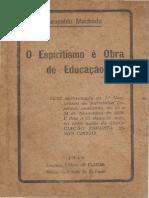 O Espiritismo é obra de Educação