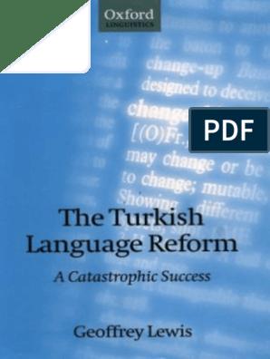 The Turkish Language Reform | Ottoman Empire | Arabic