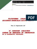 Platafoma VI Convenio UGT-PV + CGT-PV 24-10-2012