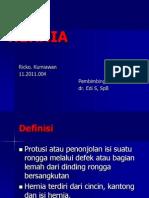 Hernia Ppt - Bedah