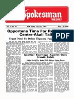 The Spokesman Weekly Vol. 31 No. 43 July 12, 1982