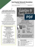 Medford Family Network Winter 2014 Newsletter