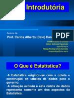 Aula  - Introducao à Estatística