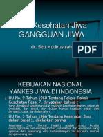 Gangguan Jiwa.(Ikj) Nusantara Jaya