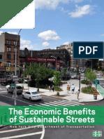 Los beneficios económicos de tener calles sustentables