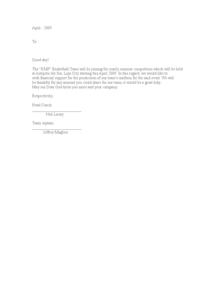 Solicitation letter 2 altavistaventures Images