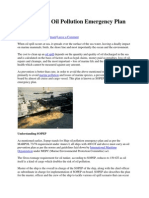 What is Ship Oil Pollution Emergency Plan