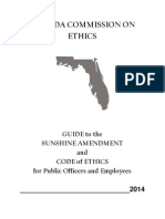 Florida Ethics Commission 2014 Guide