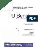 PU-BENEFS Final Technical Report