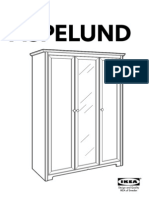 Aspelund Wardrobe With Doors AA 376231 3 Pub