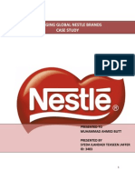 Managing Global Nestle Brands