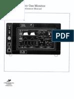 Manual Ohmeda RGM5250