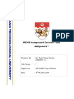 MB363 Assignment 1 Report