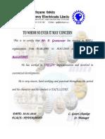 BHEL certificate1