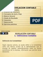 Unidad 1 - Nivelacion Contable