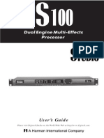 Digitech's s100 Manual