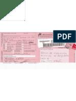 Aviso de Recepção - Carta Procurador da República