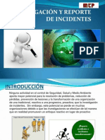 Investigacion de Accidentes e Incidentes