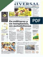 Gcpress.planas de Diarios Mexicanos Jue 23 Ene 2014