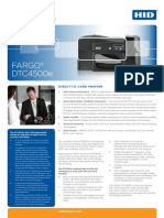 Fargo Dtc4500e Printer Ds En