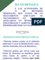 Industria de No Metalicos