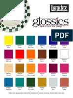 Liquitex Acrylic Enamel Glossies Colourchart