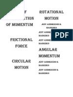 Physics Foldables