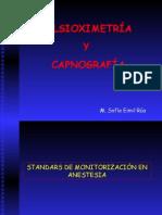 Pulsioximetría y capnografía