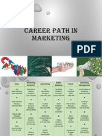 Career Path in Marketing