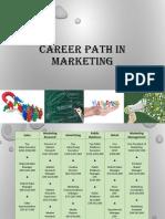 Career Path in Marketing