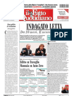 Il Fatto Quotidiano first issue 20090923