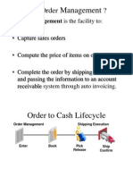 Overview of General Sales Order