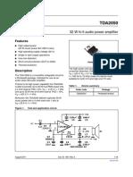 TDA2050 - Datasheet