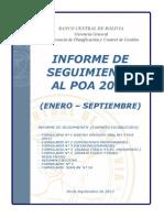 Seguimiento Poa & Ppto 2012-09 (Documento - Mefp)