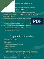 Tiroida Si Sarcina
