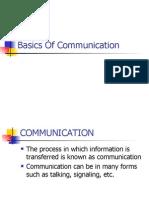 Basics of Communication