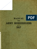 (1917) Manual for Army Horseshoers