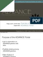 ADVANCE Presentation