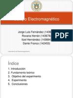 Campo eléctrico (presentación)