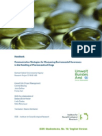Handbook Communication Strategies for Sharpening Environmental Awareness in the Handling of Pharmaceutical Drugs