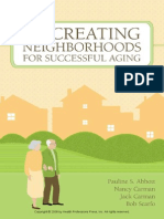 Re-creating Neighborhoods for Successful Aging (Excerpt)