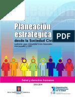 Planeación estreategica desde la sociedad civil