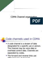CDMA Channel Organization