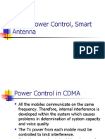 CDMA Power Control, Smart Antenna
