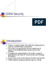 CDMA Security