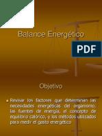 Balance Energtico Clase