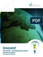 2014 KIC Call Framework of Guidance